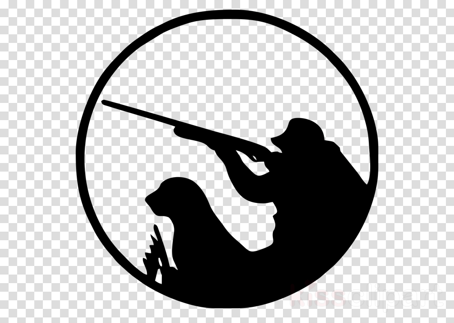 Hunting clipart decal. Circle silhouette duck sticker