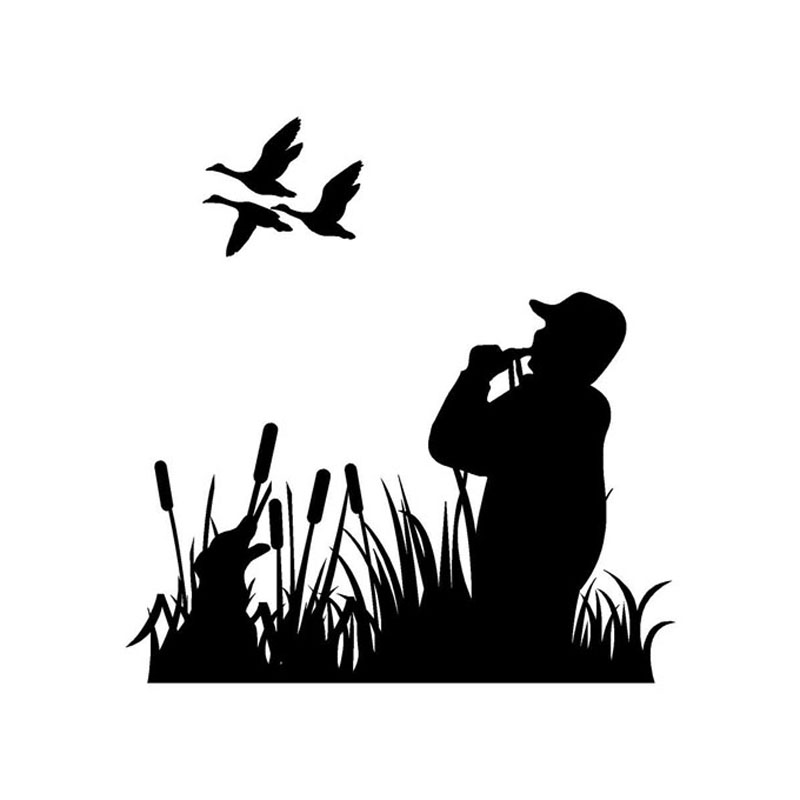 X free clip art. Hunting clipart gone