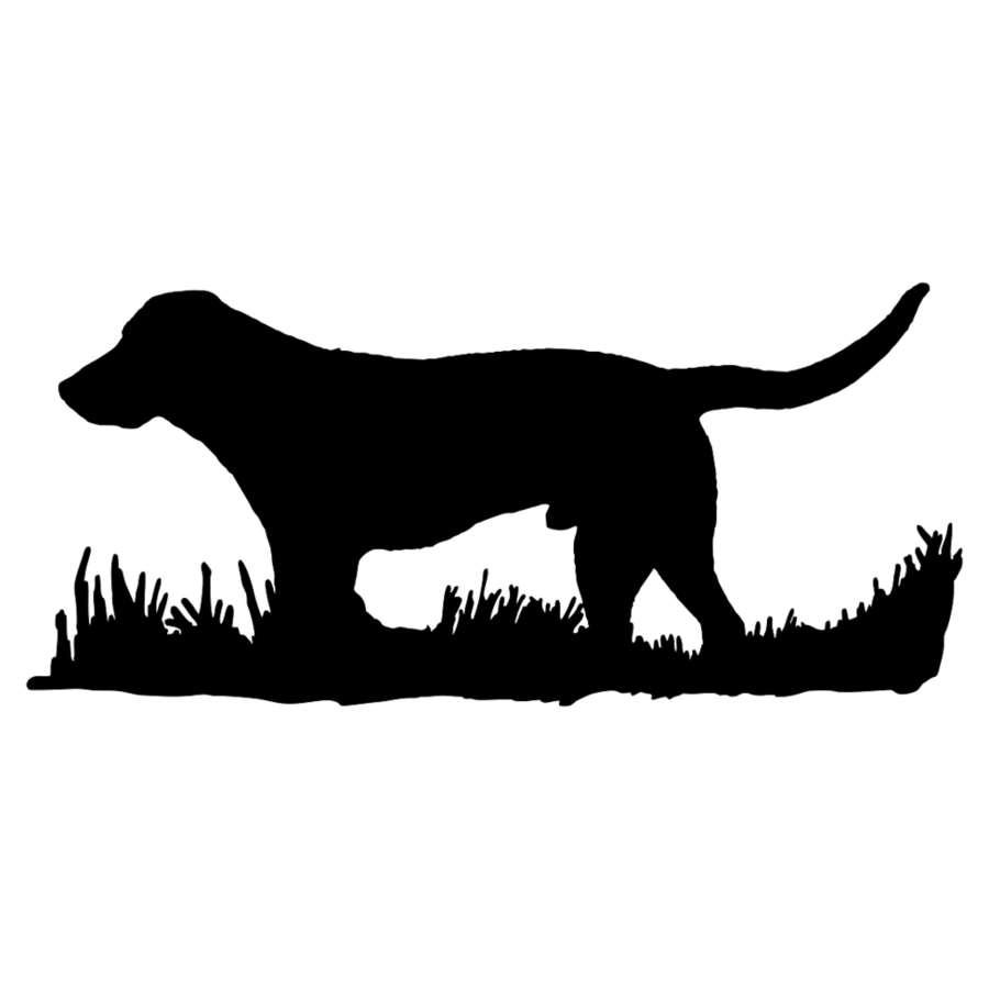 Bird dog black transparent. Hunting clipart labrador silhouette
