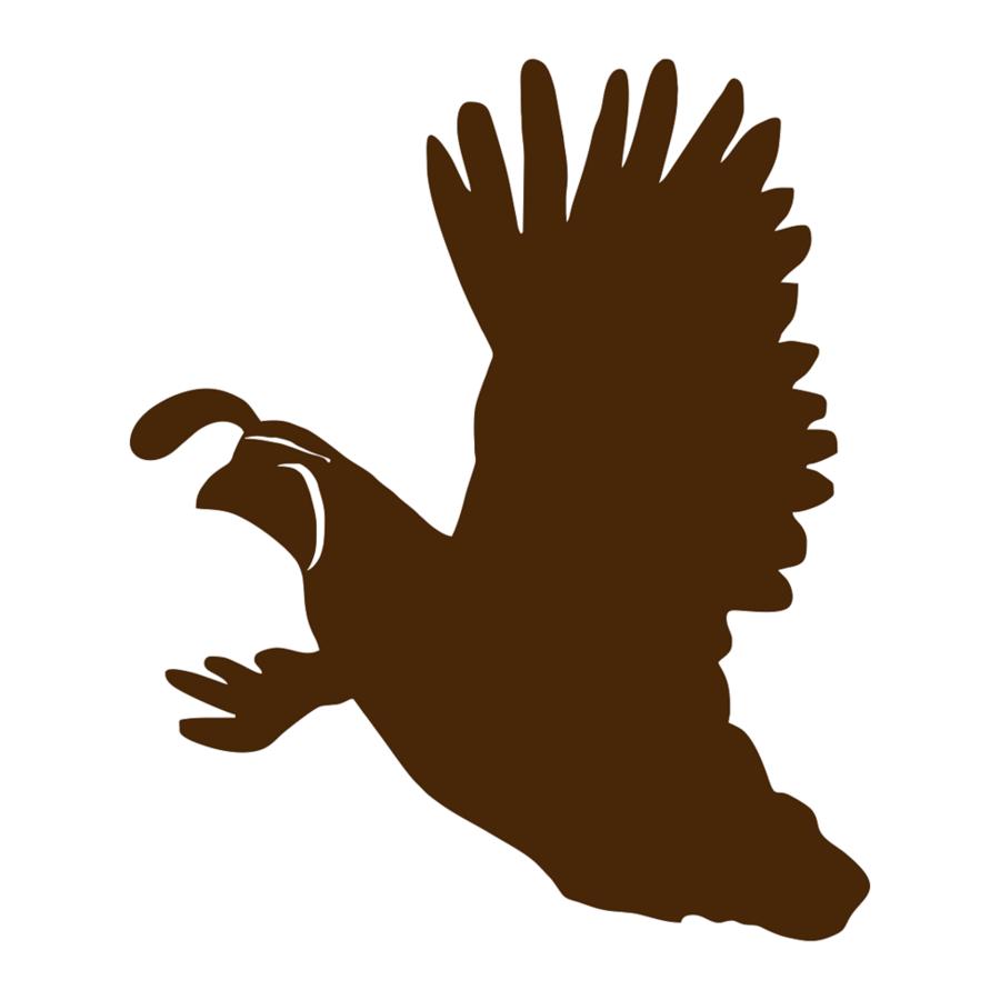 World tree chicken bird. Hunting clipart quail