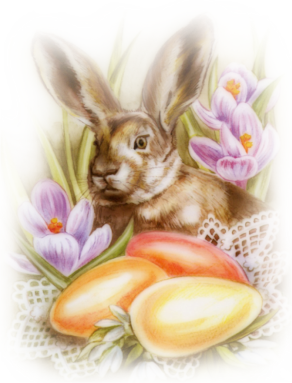 Tubes paques easter clip. Hunting clipart rabbit hunting