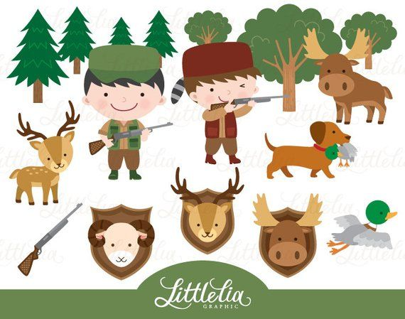 Season . Hunting clipart safari hunter