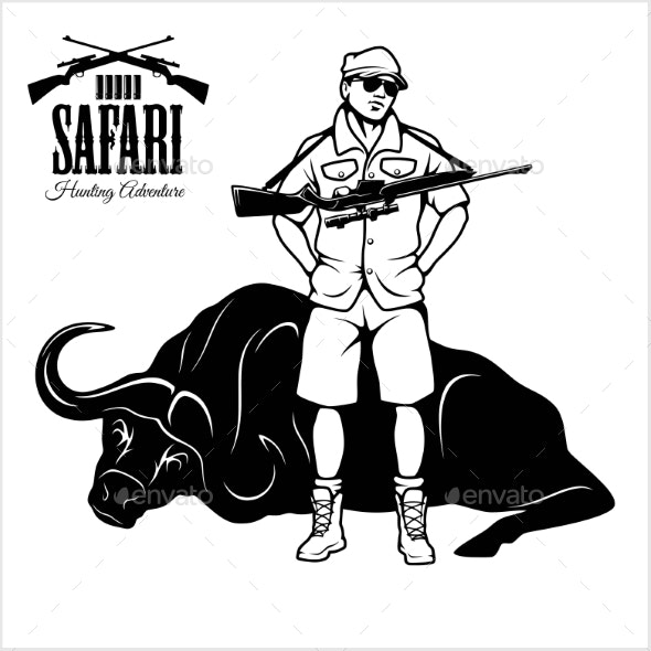 Download for free png. Hunting clipart safari hunter