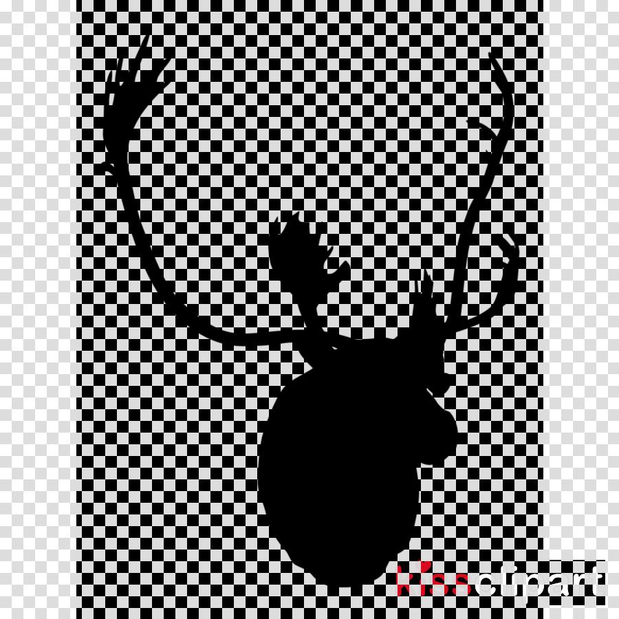 Trophy cartoon reindeer . Hunting clipart sambar deer