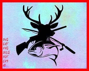 Etsy . Hunting clipart svg