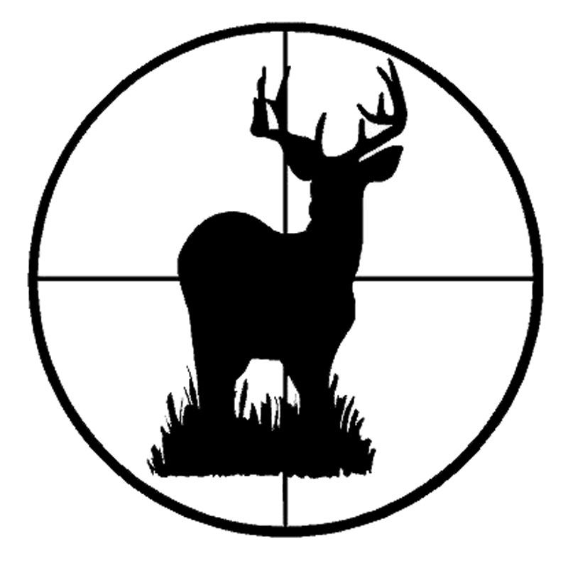 Hunting clipart target hunting. Deer pencil and in