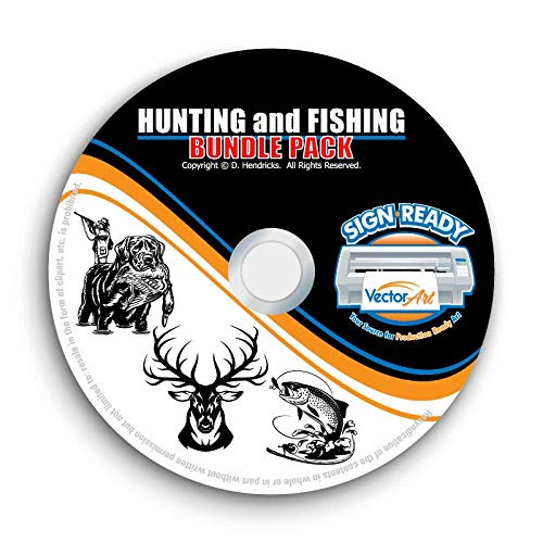 Hunting clipart vector. Amazon com and fishing