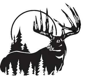 Hunting clipart white tail. Pin on deer silhouettes