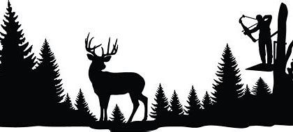 Image result for deer. Hunting clipart wildlife scene