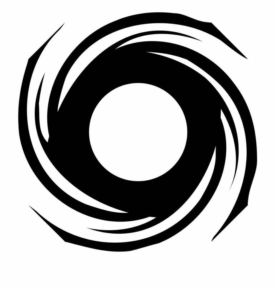 Hurricane clipart. Black and white clip