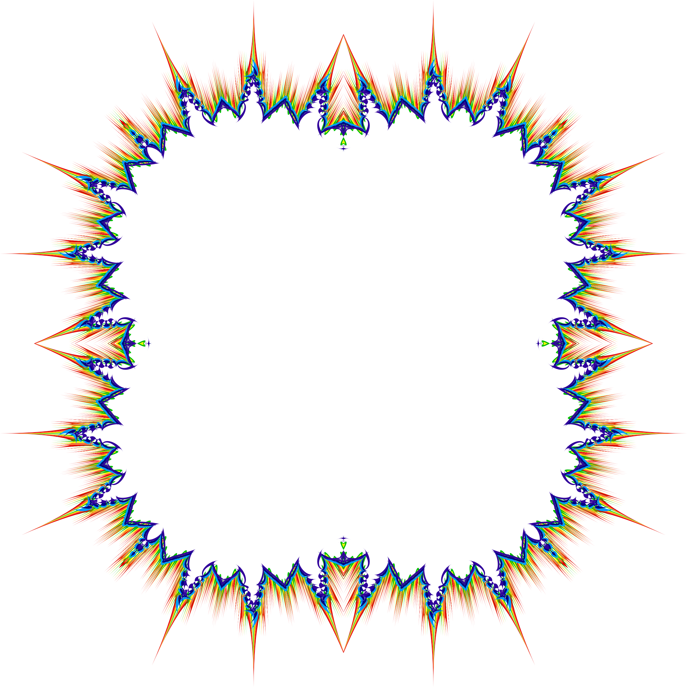 Hurricane clipart abstract. Geometric frame png picture