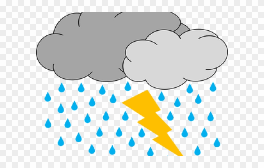 Thunder weather cloud clip. Hurricane clipart bad storm