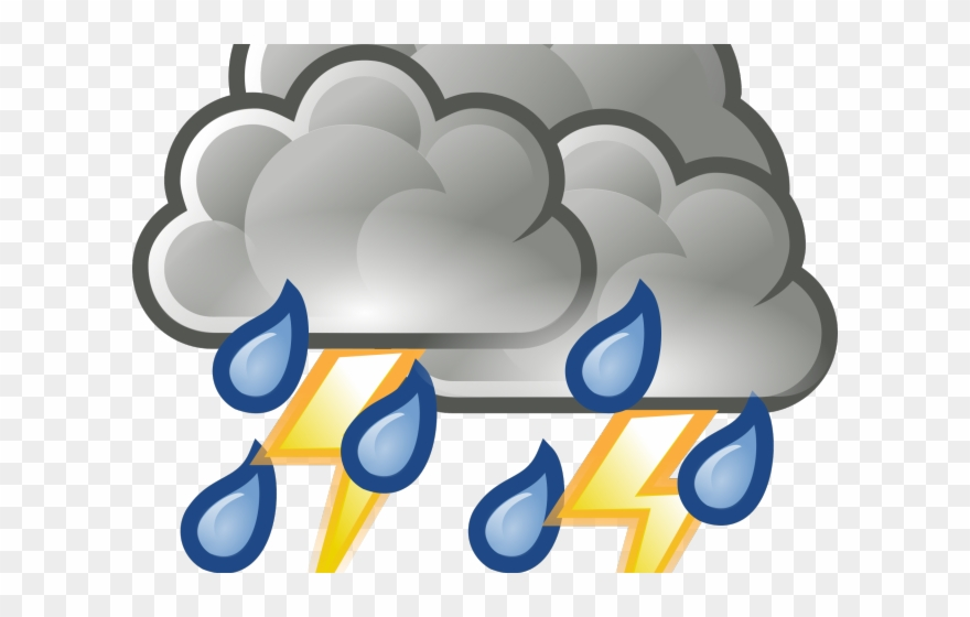 Hurricane clipart bad storm. Thunderstorm showers weather png