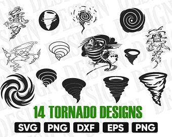 Tornado etsy . Hurricane clipart baseball design