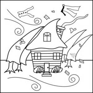 Of a and tornado. Hurricane clipart coloring page
