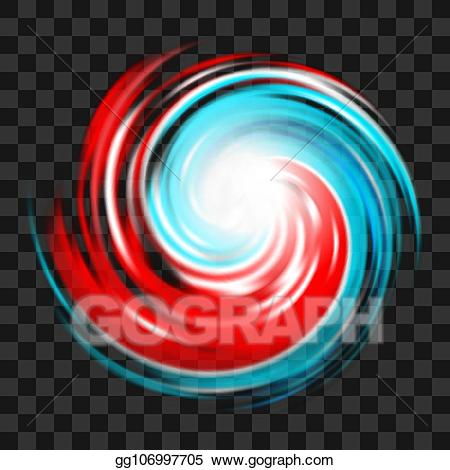 Eps vector red and. Hurricane clipart effect typhoon