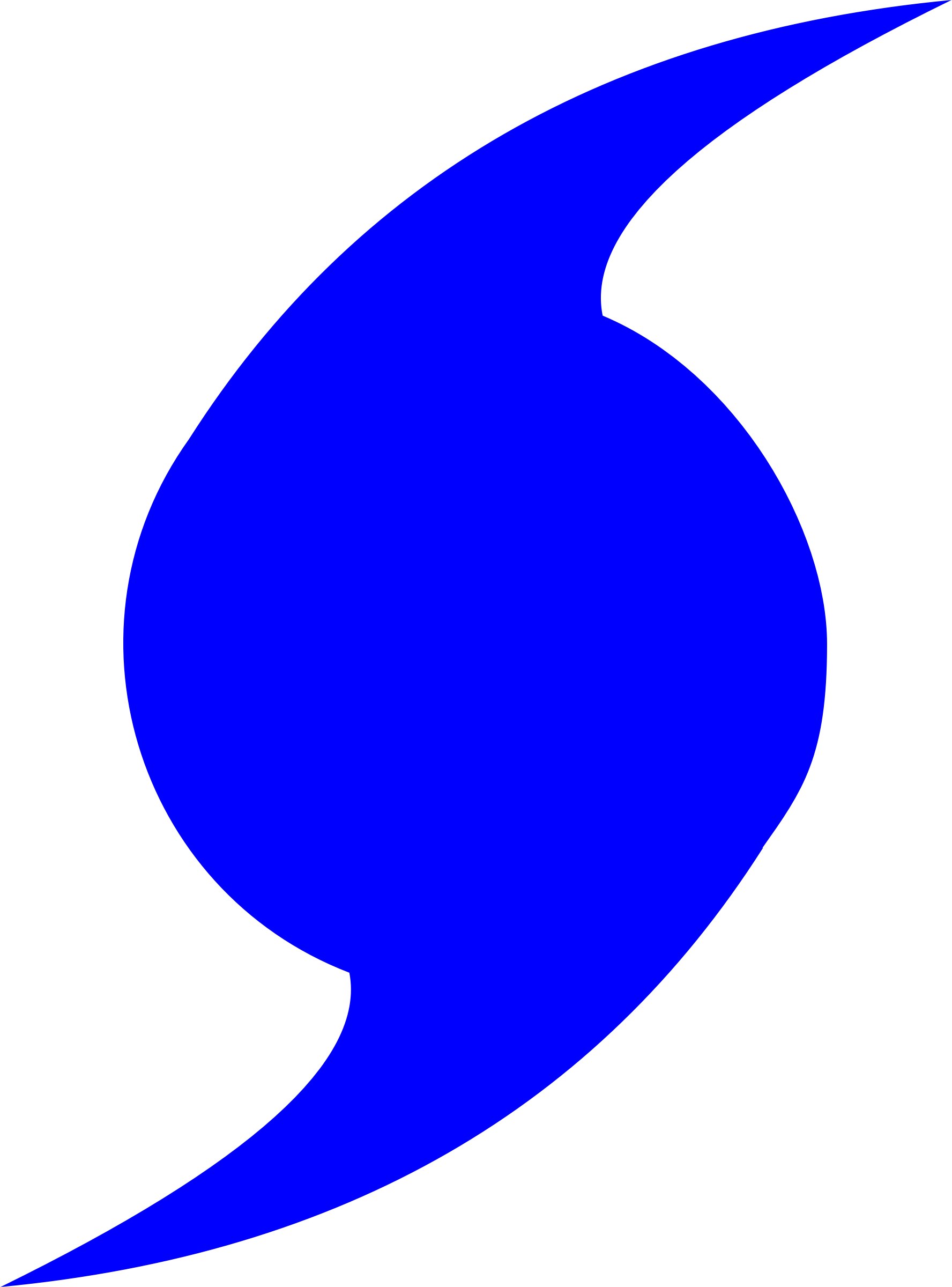 Blue symbol pictures transparentpng. Hurricane clipart extreme weather