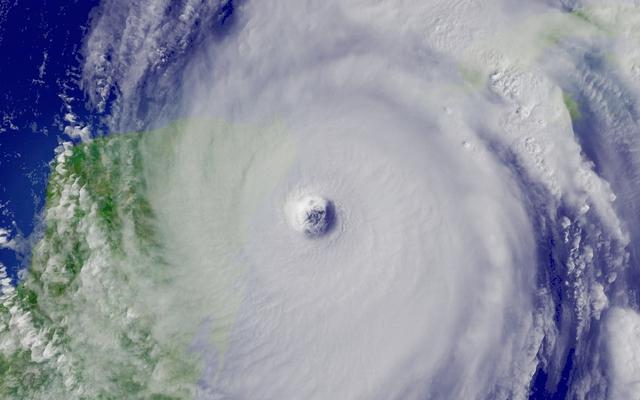 Hurricane clipart hurricane eye. Stock photo satellite image