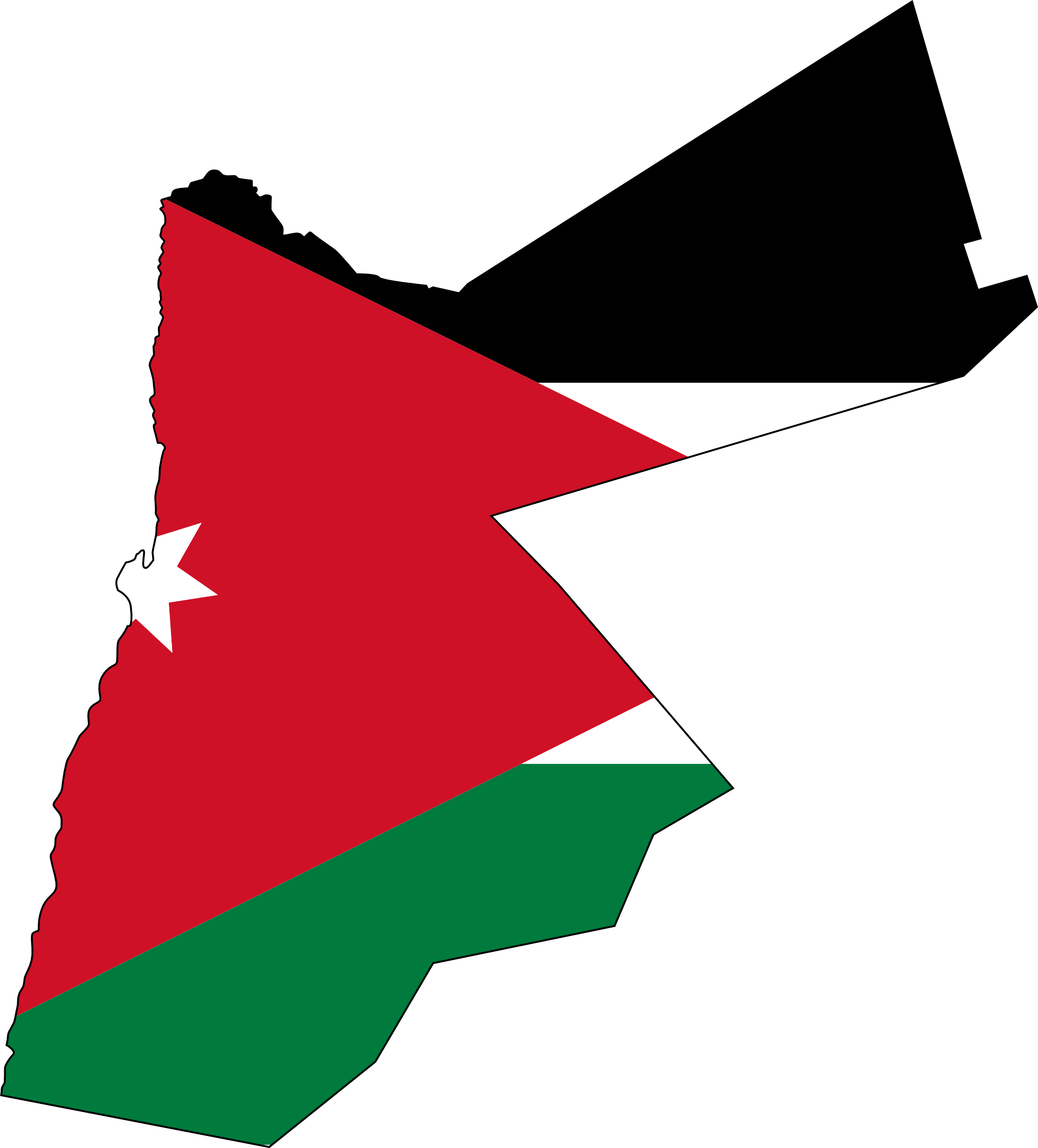 Hurricane clipart hurricane flag. Jordanian panda free images