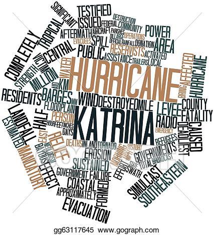 Hurricane clipart hurricane katrina. Stock illustration gg