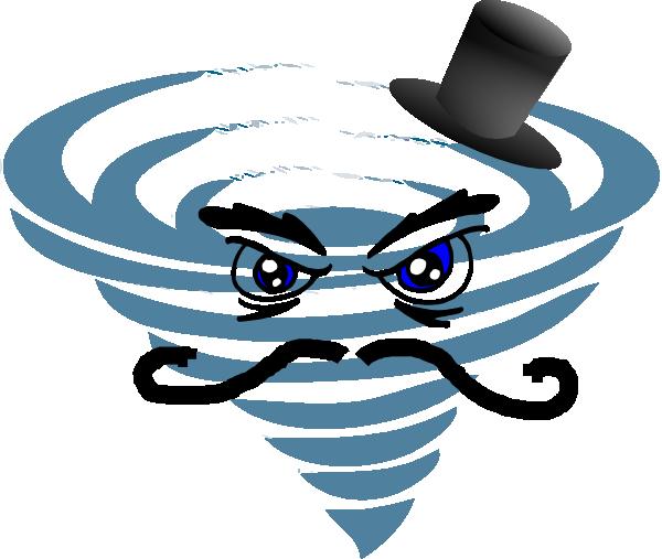 Hurricane clipart painting. Evil clip art vector