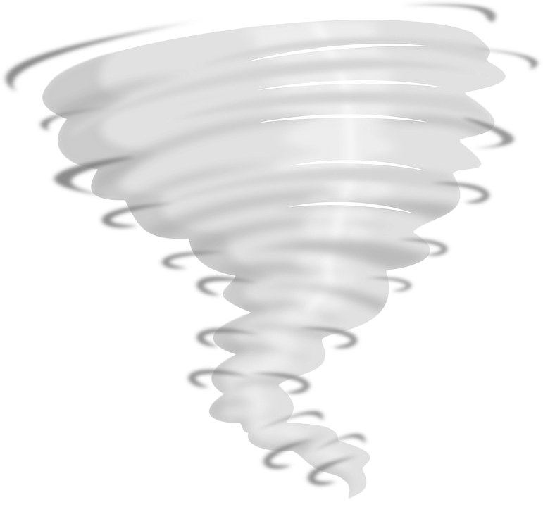 Collection of tornado graphics. Scale clipart severe