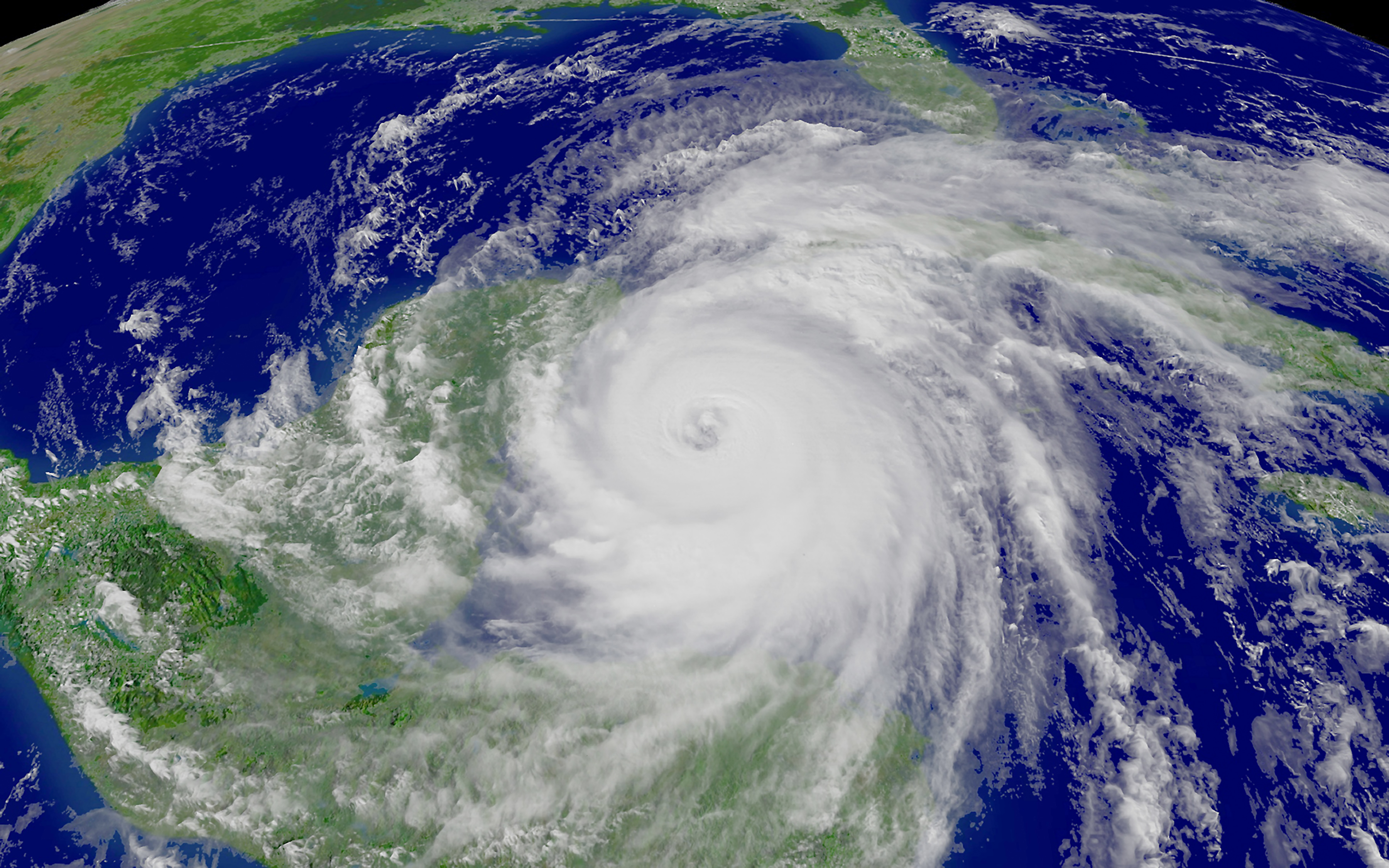 Enhanced noaa photo of. Hurricane clipart satellite