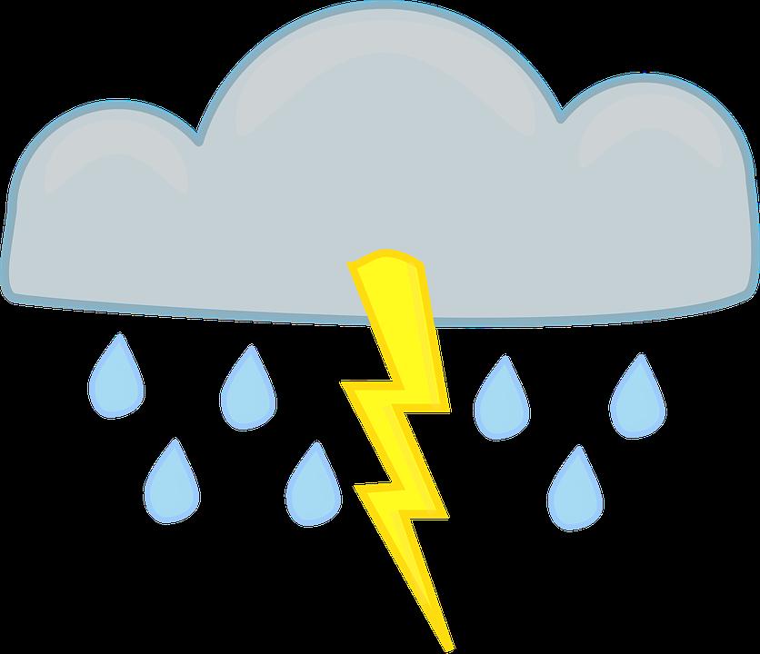Cartoon storm cloud shop. Hurricane clipart stormy season
