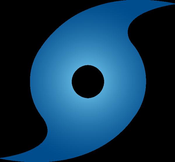 Symbol blue free images. Hurricane clipart svg