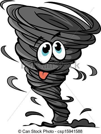 Hurricane clipart swirl. Vector clip art illustrations