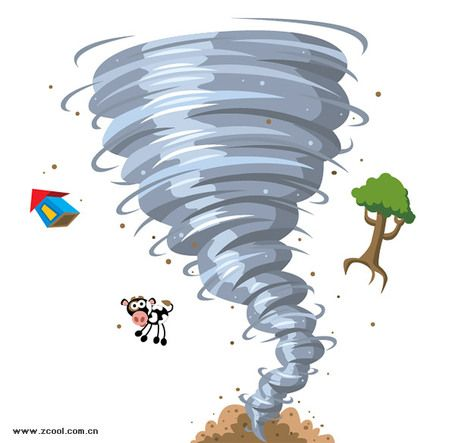Hurricane clipart turbulent. Synonym raging vocabulary board