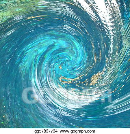 Hurricane clipart twist. Drawing water abstract gg