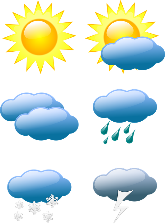 Meteorology the language of. Winter clipart weather