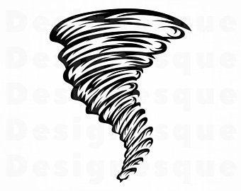 Tornado etsy . Hurricane clipart whirlwind