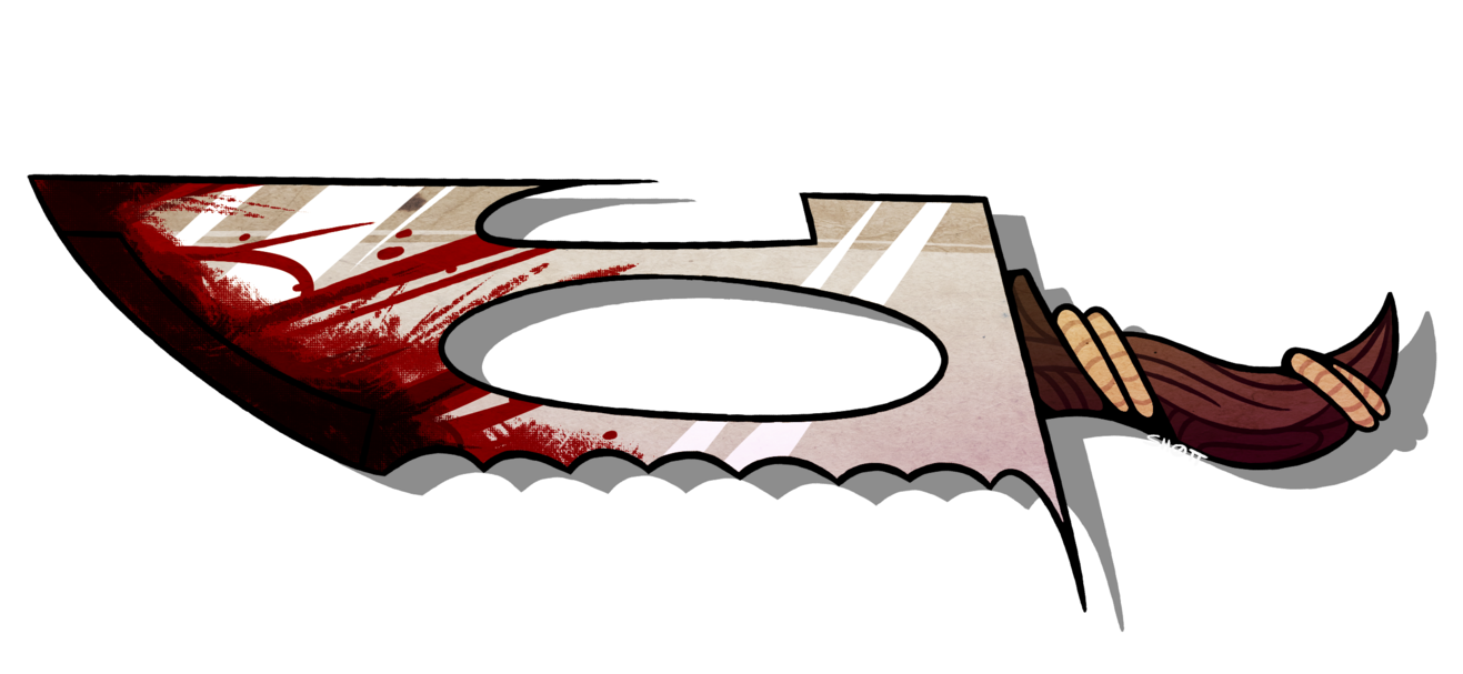 Blade of by sh. Hurt clipart agony