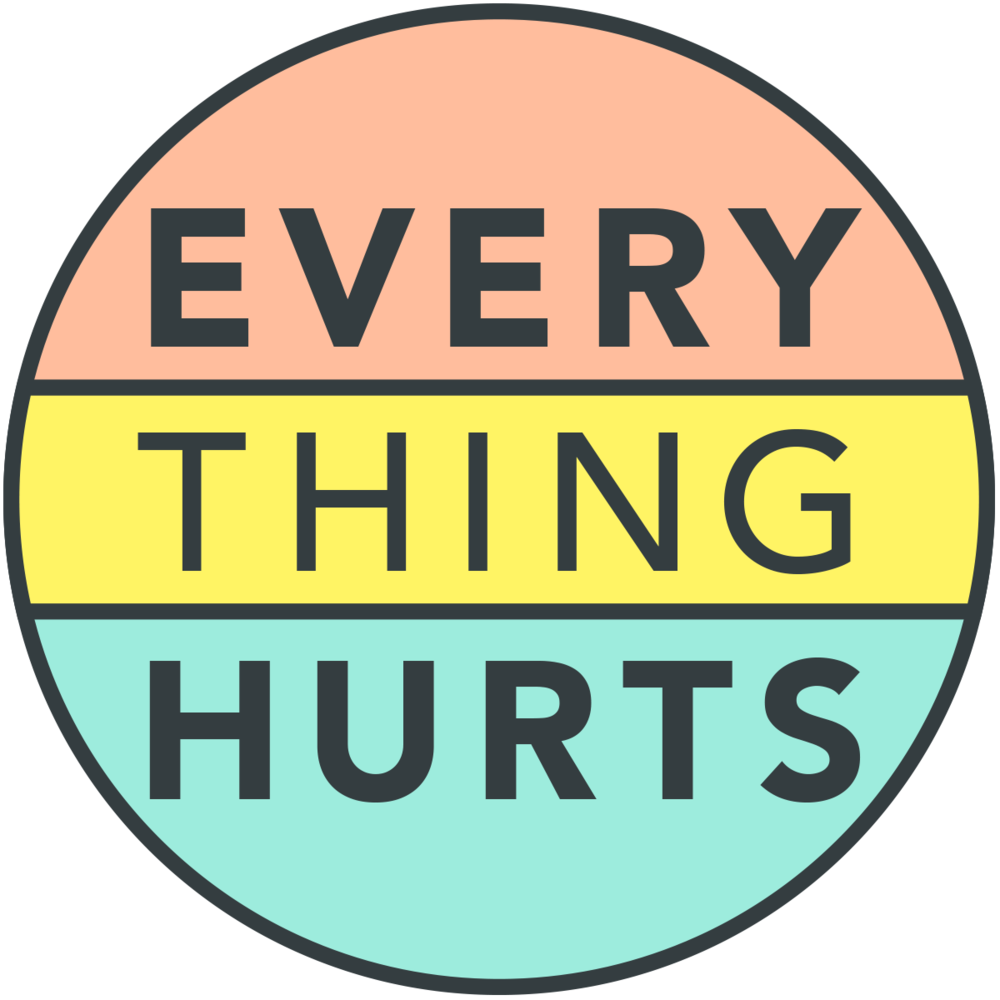 Hurt clipart chronic disease. Everything hurts