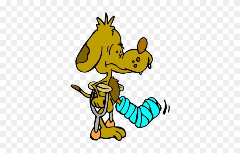 Hurt clipart clip art. Dog leg injury library