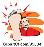 Download panda free images. Hurt clipart foot pain