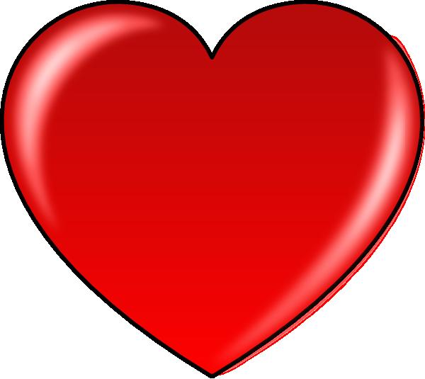 Clip art at clker. Hurt clipart heart