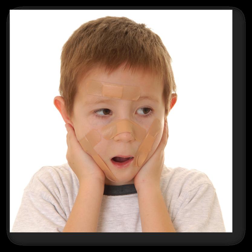Hurt clipart injured child. Sensory processing disorder spirit
