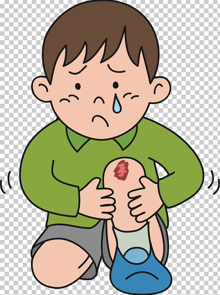 injury clipart sore knee
