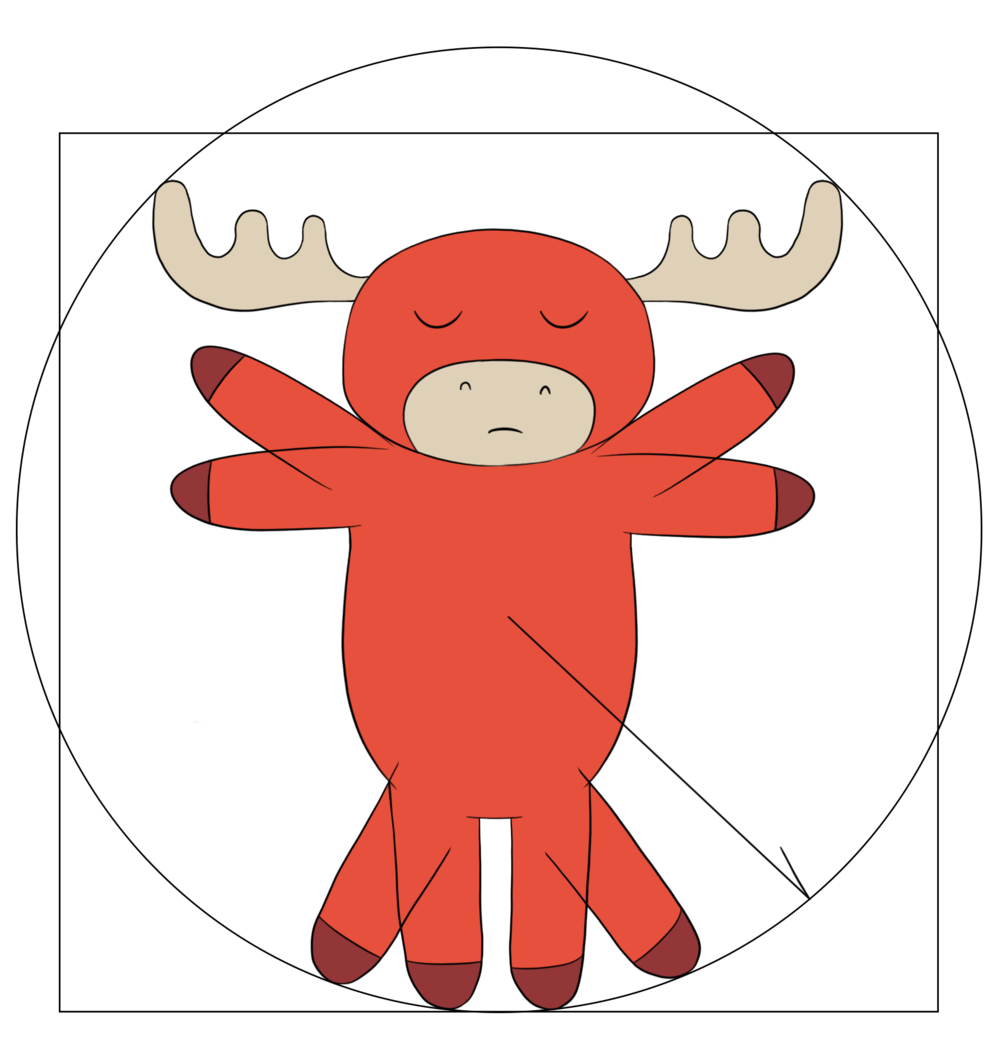 Hurt clipart muscle tension. Massage moose therapy moosevitruvianpng