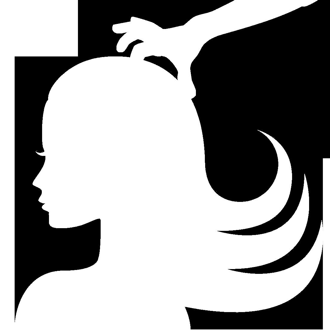 Scalp hendricks barbershop . Massage clipart black and white