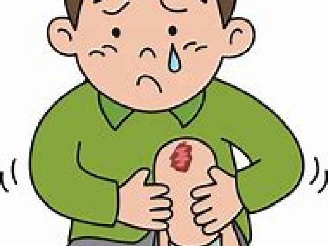 Knee clipart wounded boy. Free wound download clip