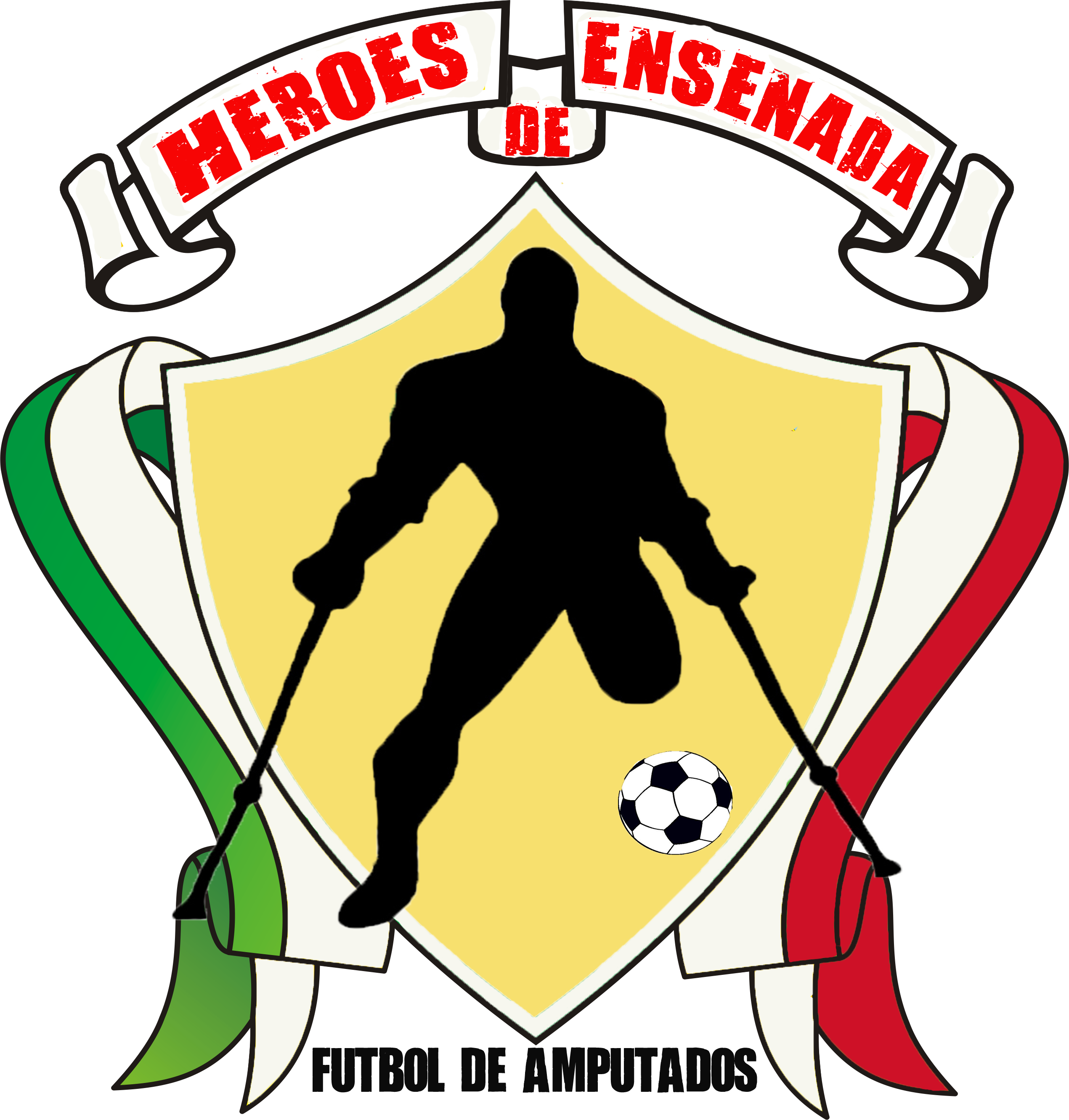Hurt clipart soccer injury. Of amputees heroes ensenada