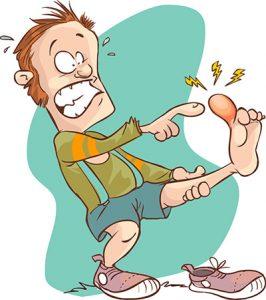 Hurt clipart stub toe. Racine wi podiatrist is