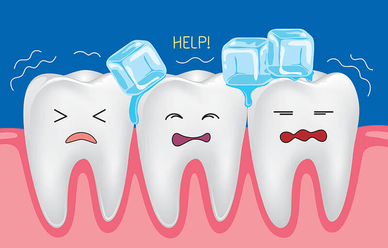 What causes sensitivity and. Hurt clipart tooth ache