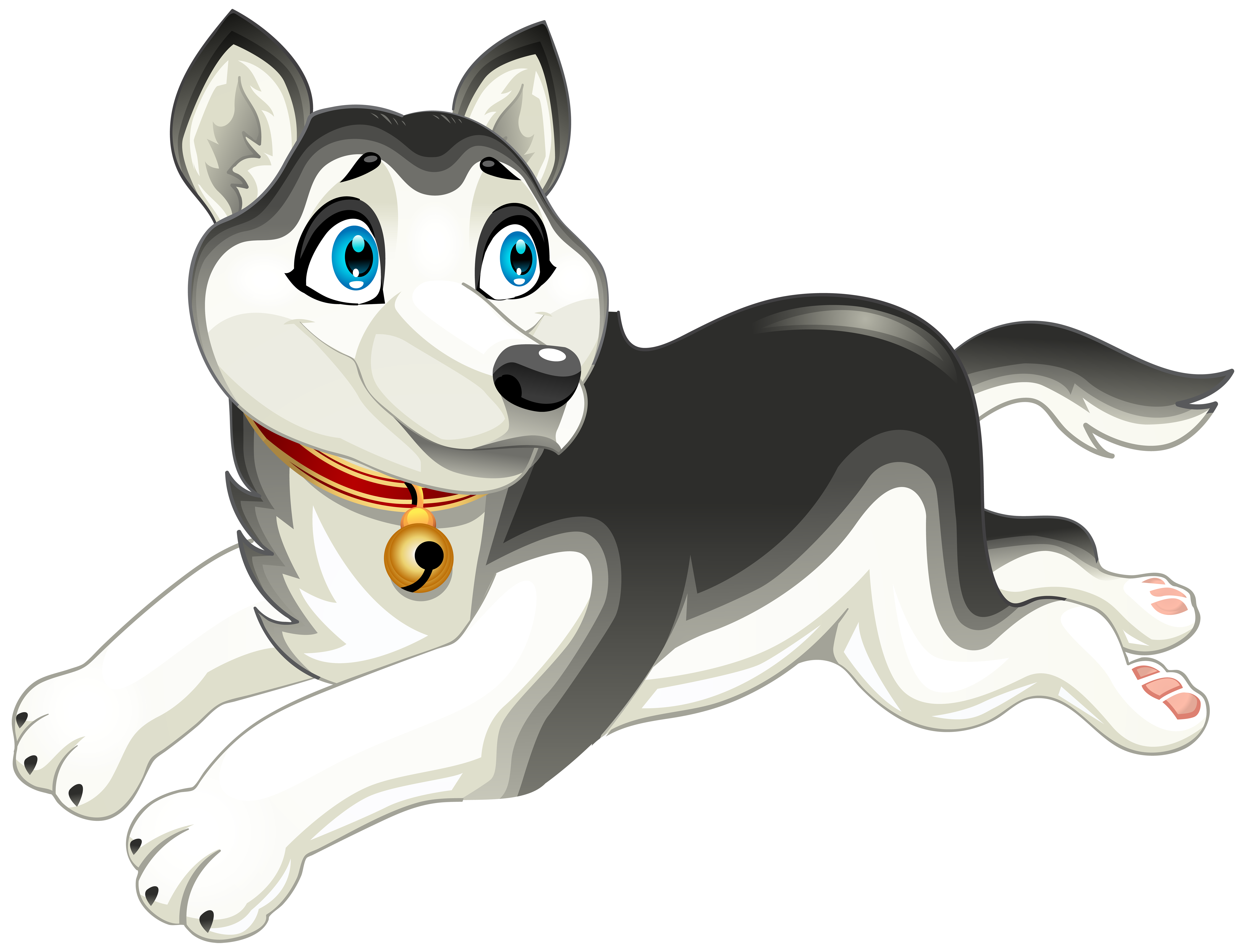 Husky clipart big dog.  collection of png