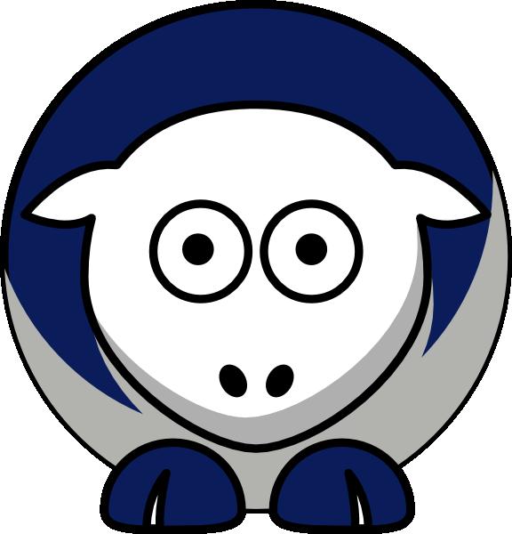 Sheep huskies team colors. Husky clipart connecticut university