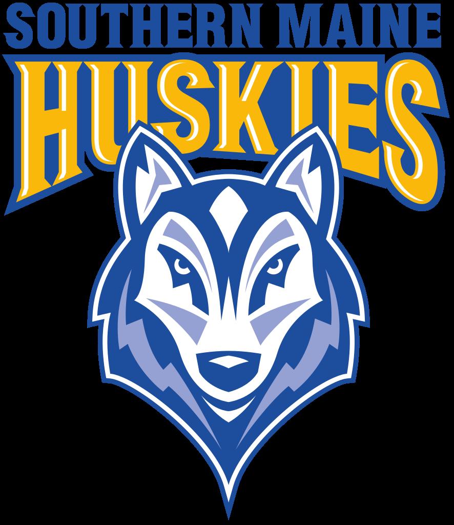 Husky clipart connecticut university. Southern maine huskies hockey
